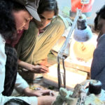 Indian gemstone workshop