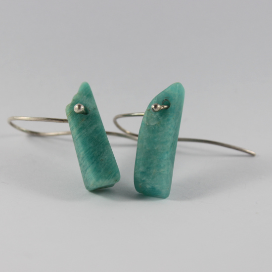 natural amazonite earrings South Africa jewellery
