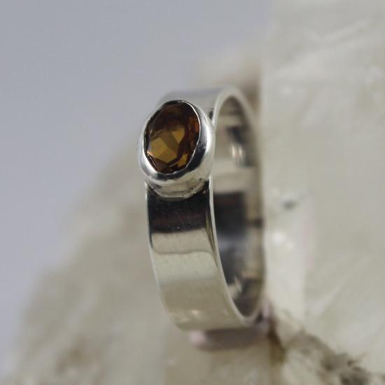 silver brandy ring gemstone jewelry