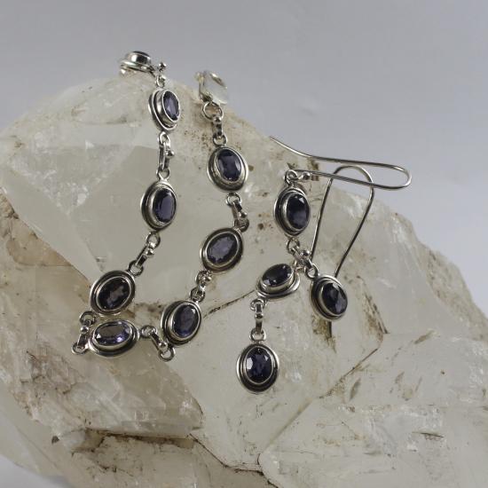 natural gemstone jewelry jewellery iolite