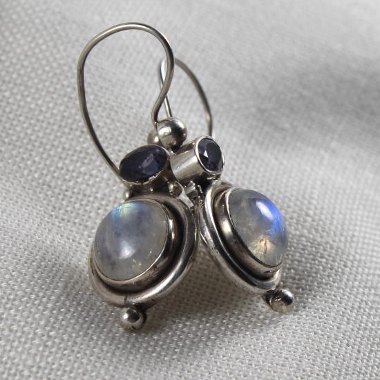 natural gemstone jewelry silver