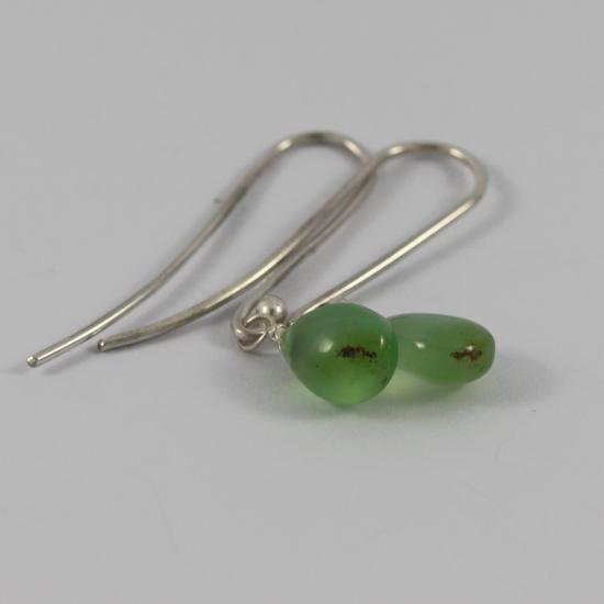 Australian chrysoprase drop earring jewelry