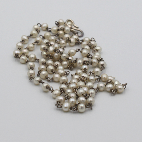 5mm Chinese culture pearl jewelry necklace