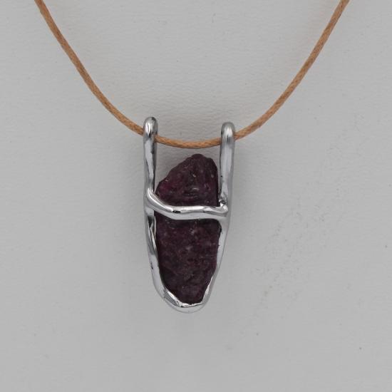 ruby pendant crystal