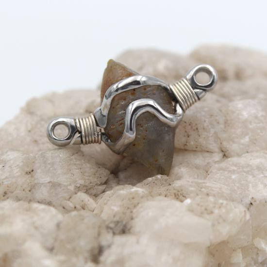 natural Ratnapura sapphire crystal pendant