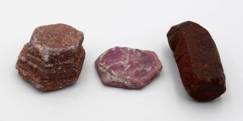 natural ruby crystals