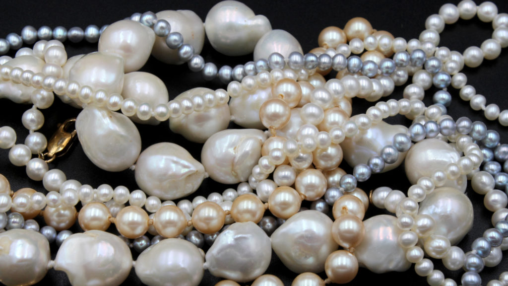 selection of pearls for blog