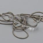 pure clean quartz pendant jewelry from Russia