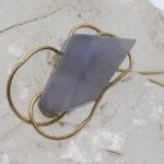unique blue chalcedony Namibian gemstone jewellery