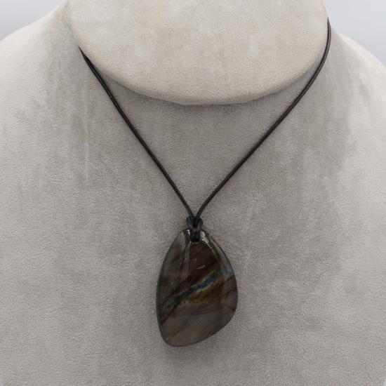 unique labradorite Madagascar gemstone pendant